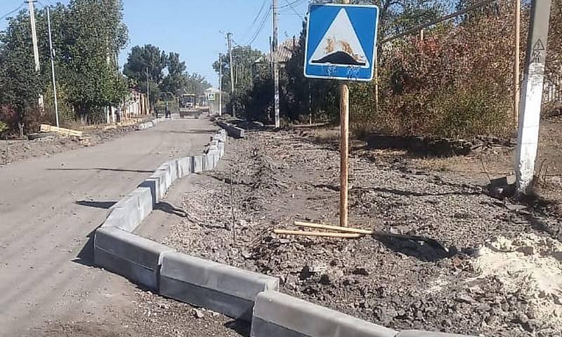 В Шахтах идет капитальный ремонт улиц Колесникова и 60 лет Победы