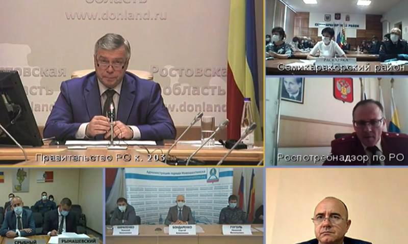 Василий Голубев поддержал предложение главного санитарного врача Дона о десятидневных осенних каникулах