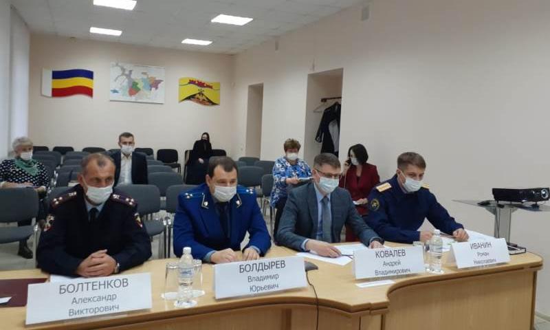 В Ростовской области усилены меры борьбы с COVID–19