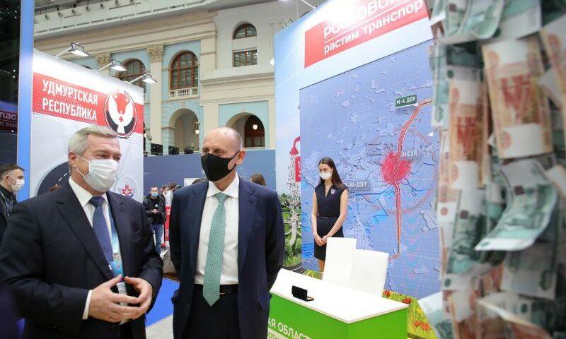 Губернатор Ростовской области принял участие в форуме «Транспорт России-2020»