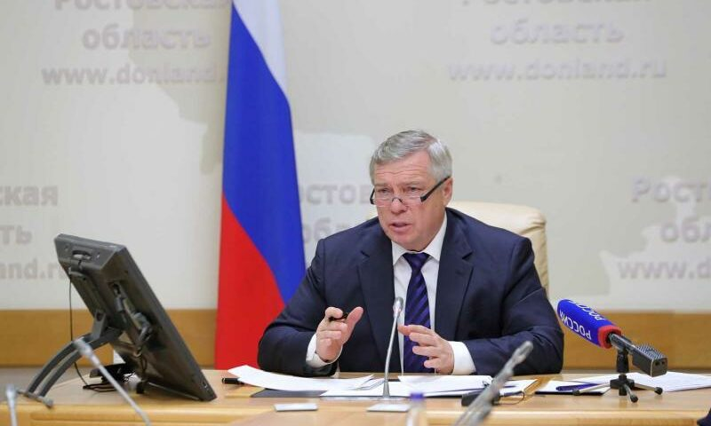 Василий Голубев провел прием дончан по поручению Президента России