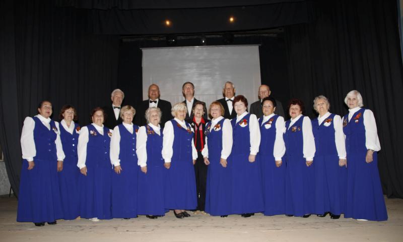 Шахтинский хор ветеранов отмечает 35-летний юбилей