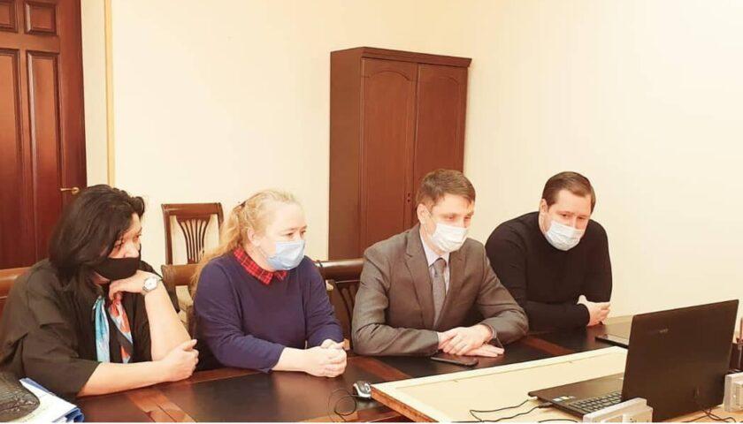 Прошла первая рабочая встреча  команды города Шахты в рамках образовательного проекта для 100 крупнейших городов России