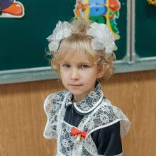 Аделина Чавпецова, 8 лет