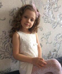 Варвара Мацкова, 6 лет
