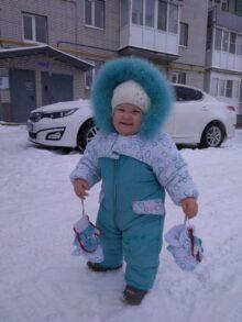 Мирослава Сидорова, 1 год