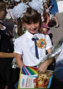 Полина Соломатина, 7 лет