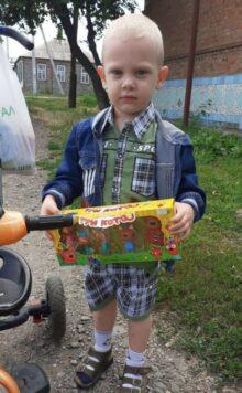 Матвей Тарасов, 3,6 года