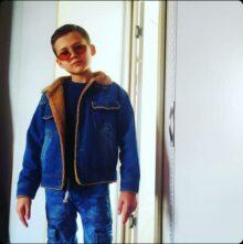 Глеб Лелюк, 8 лет