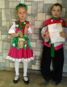 Александр Резников и Аксинья Степанова